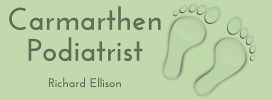Carmarthen Podiatry Logo